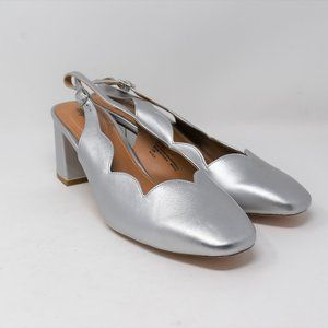 Shoes - The Theresa Slingback by Comfortview Silver NWOB
